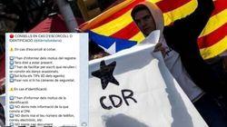 Los CDR organizan sus protestas por la inhabilitación de Torra: ropa reversible para no ser