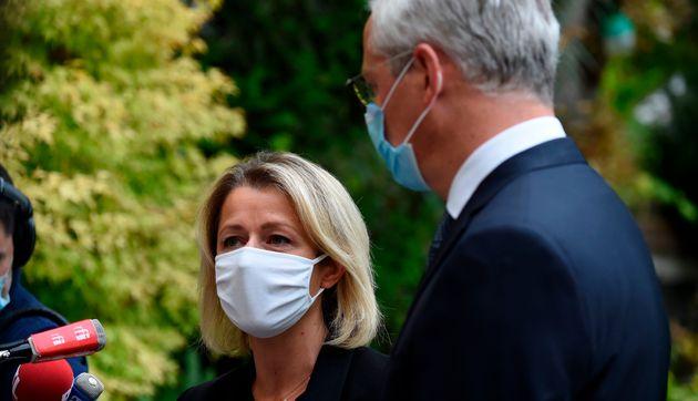 La ministre de la Transition écologique Barbara Pompili le ministre des Finances Bruno Le Maire...