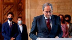 Torra deja la Generalitat pidiendo que las elecciones