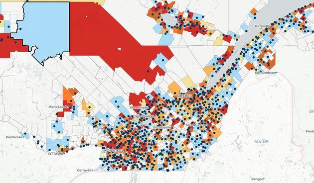 La Fondation Rivières a voulu simplifier les données publiées par le ministère...