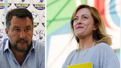 Sondaggio Swg: Lega perde il 2,5% in un mese, Meloni agguanta i 5