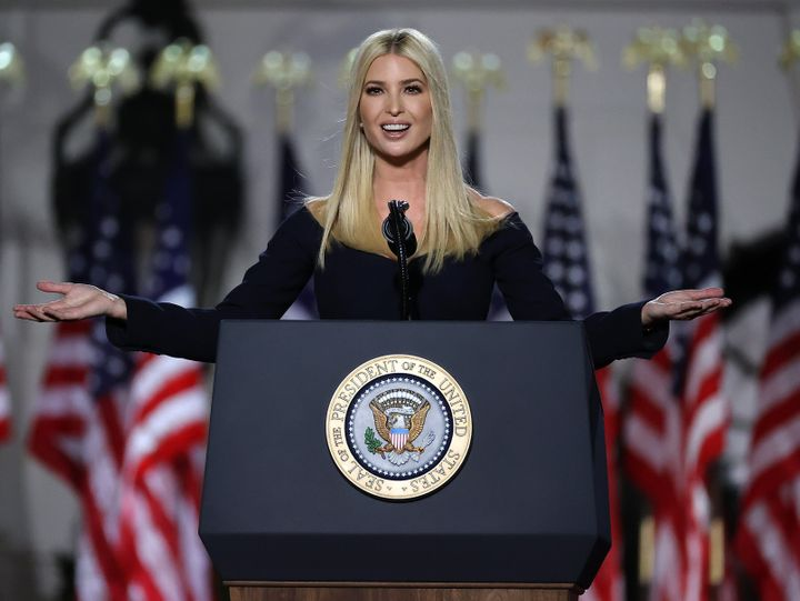 Ivanka Trump introduced her father at the Republican National Convention, where he delivered his acceptance speech as the Rep