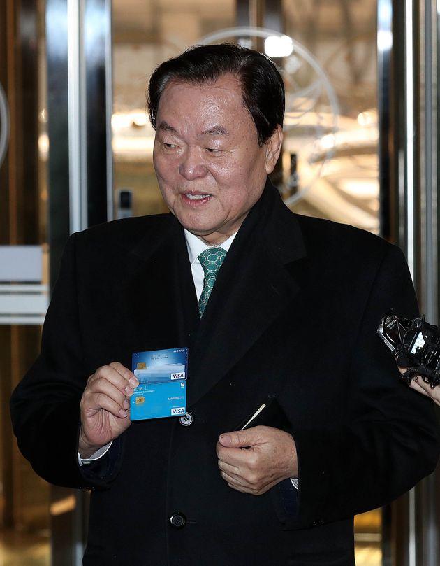 김경재 전 한국자총연맹
