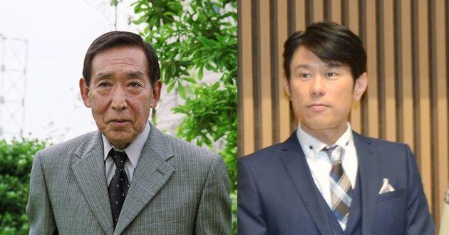藤田まことさんと原田泰造さん