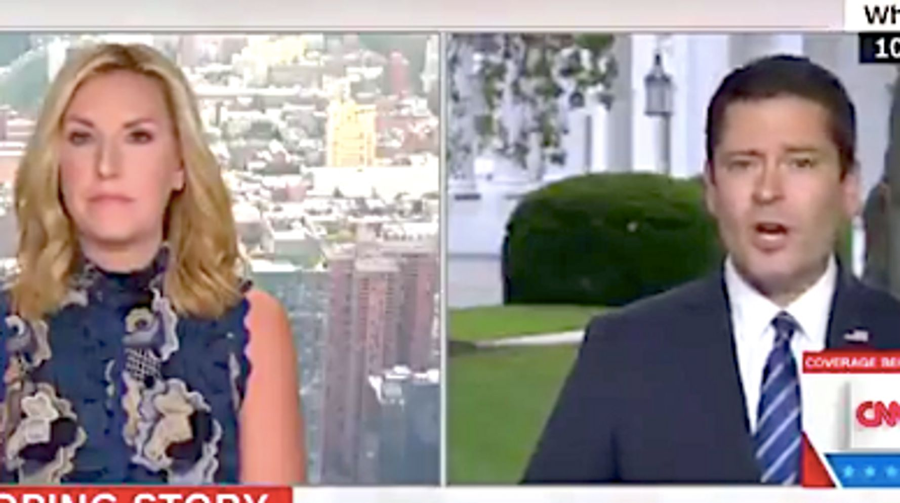 CNN's Poppy Harlow Shuts Down Trump Official On Times-Democratic Party Conspiracy Theory