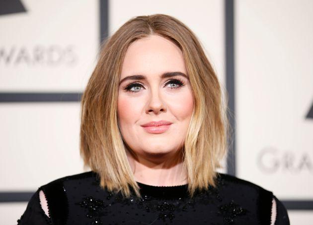 Adele en la gala de los Grammy de