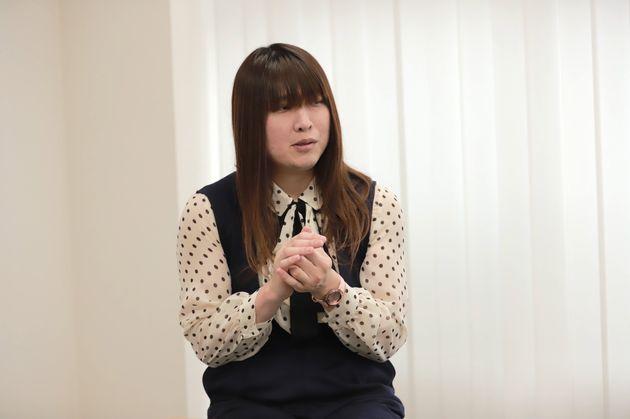 福祉業界で働く上井ハルカさん