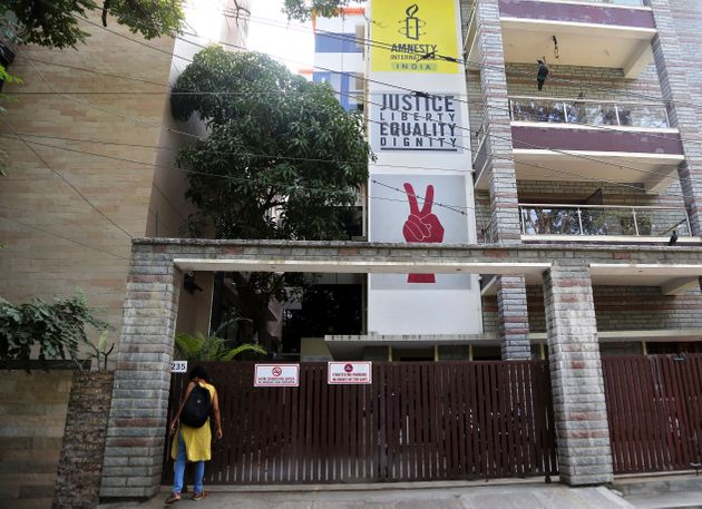 Amnesty International office in Bangalore, on October 26,