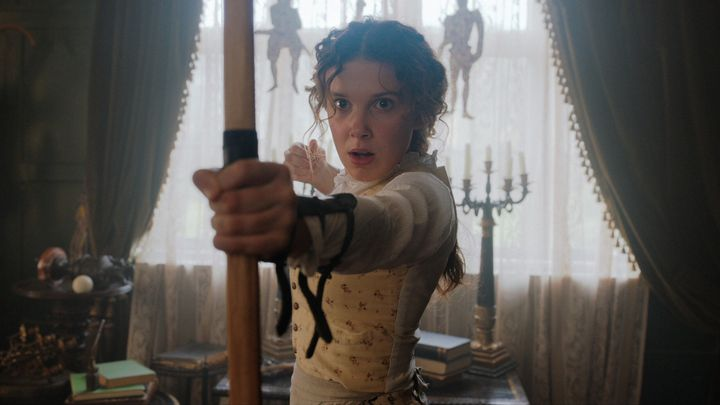 Millie Bobby Brown en 'Enola Holmes' (Netflix)