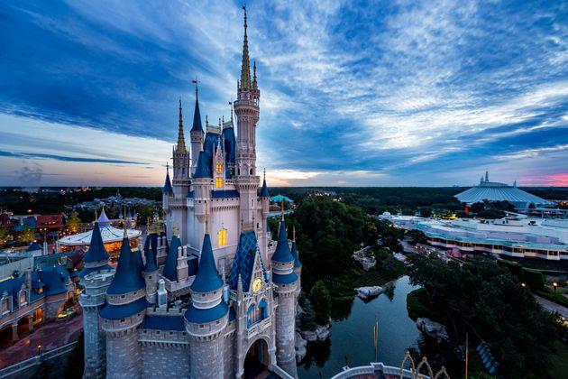 アメリカ合衆国フロリダ州オーランドにあるウォルト・ディズニー・ワールド・リゾートのマジック・キングダム。