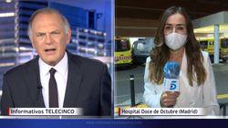 'Informativos Telecinco' destroza en un minuto el optimista tuit de Díaz