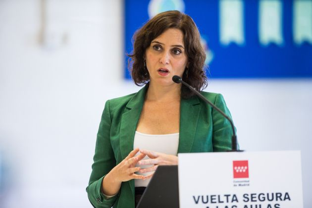 Isabel Díaz Ayuso, presidenta de la Comunidad de