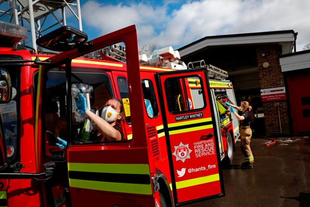 75% Of Fire Brigades Struggled To Access PPE At Height Of Covid Crisis, Union Says