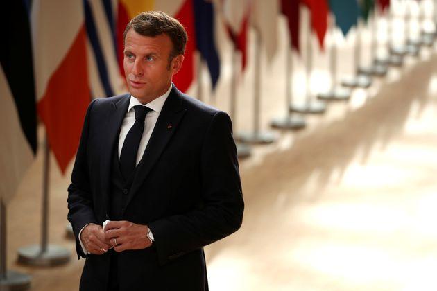 Le président de la République française Emmanuel Macron a promis l'opposante Svetlana...