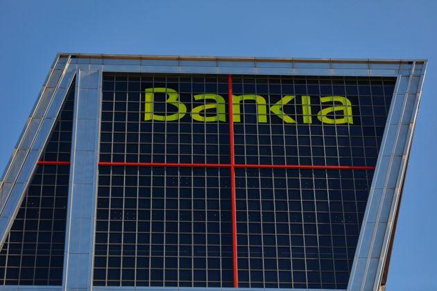 La sede de Bankia, en una de las torres Kio de la plaza de Castilla, en