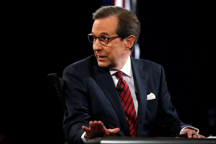 US presidential debate moderator Chris Wallace also moderated a debate between Hillary Clinton and Donald Trump in 2016.