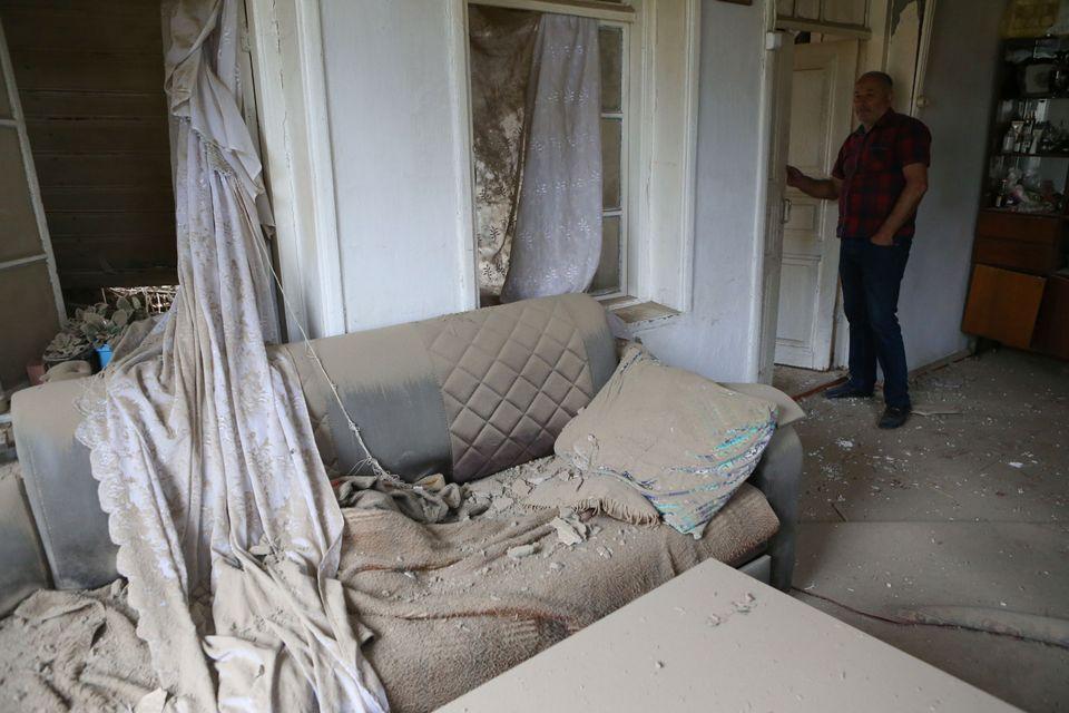 Κατεστραμμένο διαμέρισμα...