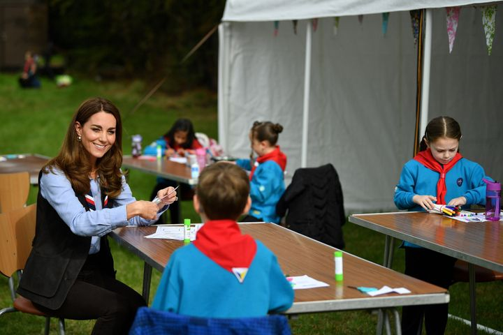 The Duchess learned how the Scouts have adapted during the COVID-19 pandemic, and continued Scouting sessions and online acti