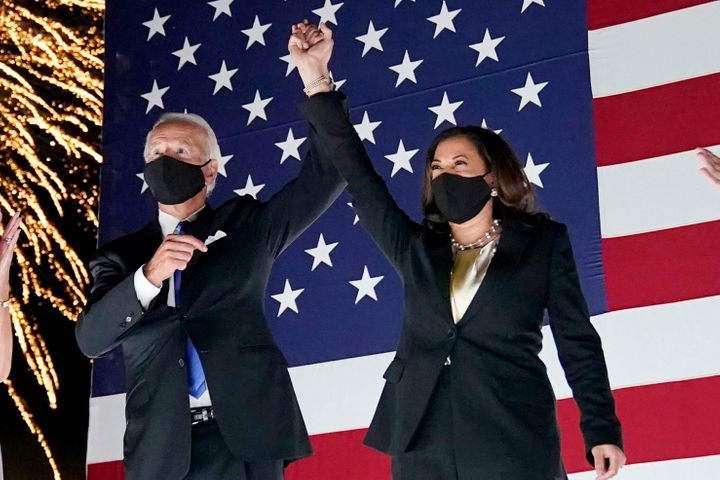 Democratic presidential candidate Joe Biden and his running mate Kamala Harris. Vice President Mike Pence and Harris are scheduled to debate on October 7 in Salt Lake City, Utah.