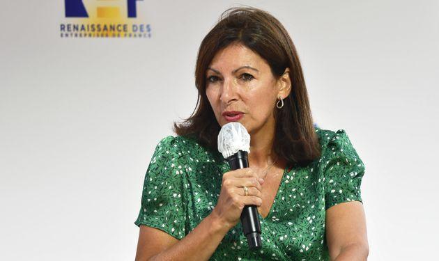 Anne Hidalgo, ici le 27 août à Paris, va boycotterla conférence des maires...