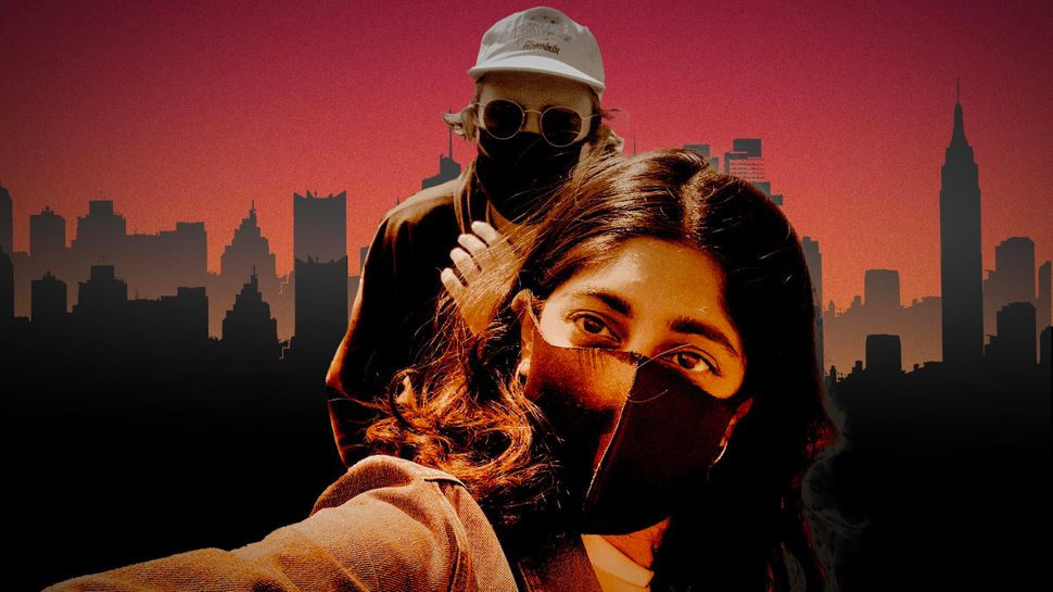 """Sunita Mani and John Reynolds are the stars of """"Save Yourselves!,"""" an apocalyptic comedy about millennial ennui."""