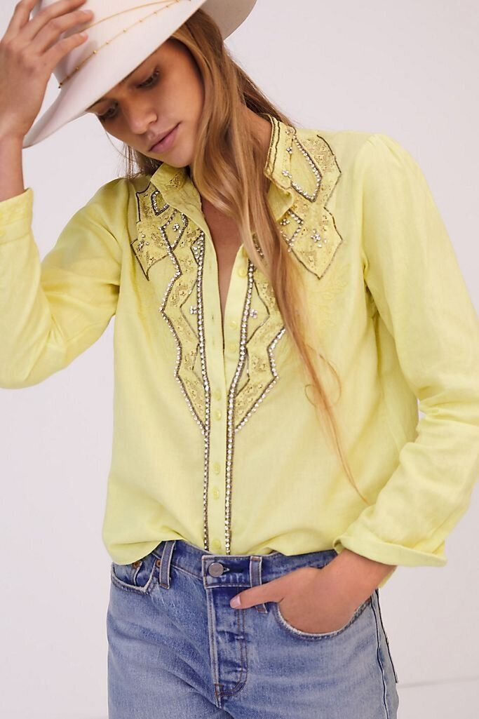 There Are Lots Of Zoom-Ready Tops On Sale At Anthropologie Right Now 12