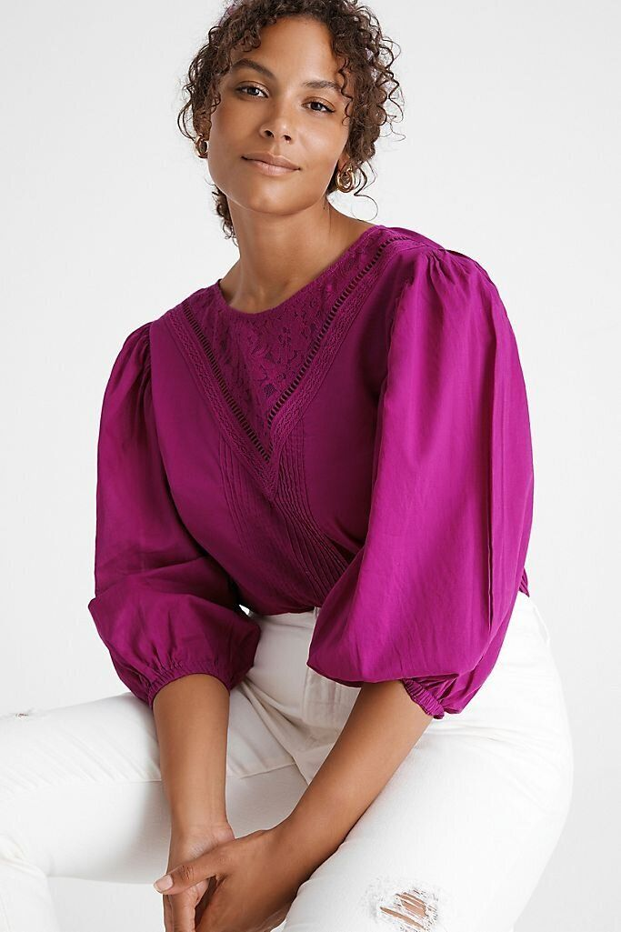 There Are Lots Of Zoom-Ready Tops On Sale At Anthropologie Right Now 8