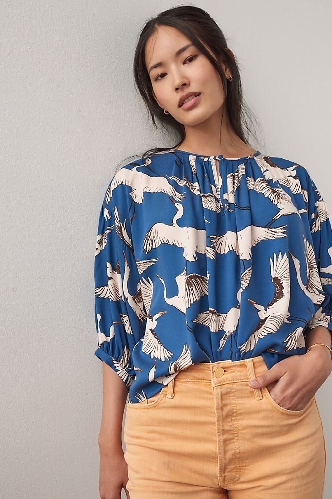 There Are Lots Of Zoom-Ready Tops On Sale At Anthropologie Right Now 2