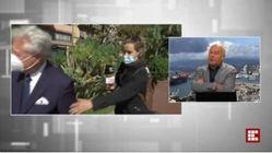 Il sindaco di Ventimiglia parla di sicurezza e viene derubato in diretta