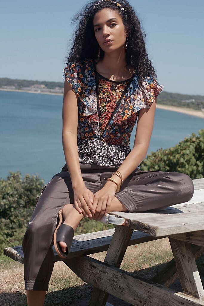 There Are Lots Of Zoom-Ready Tops On Sale At Anthropologie Right Now 10