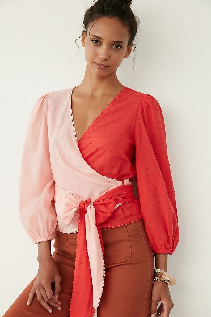 There Are Lots Of Zoom-Ready Tops On Sale At Anthropologie Right Now 13