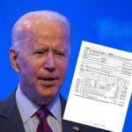 À quelques heures de son débat face à Trump, Biden publie ses feuilles
