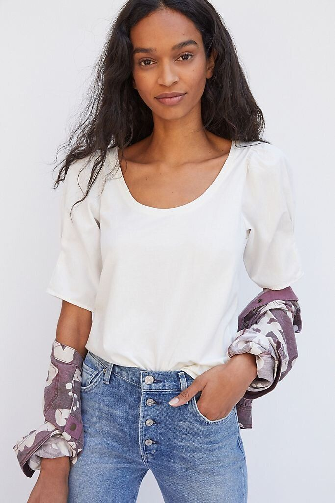 There Are Lots Of Zoom-Ready Tops On Sale At Anthropologie Right Now 16