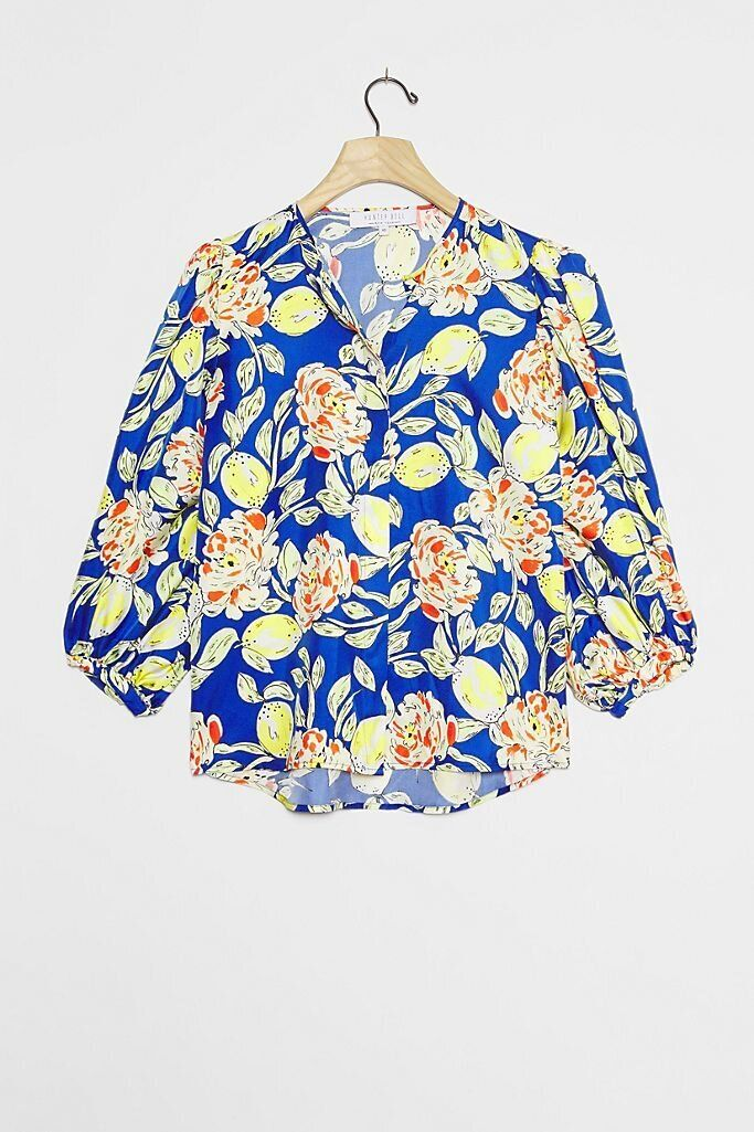 There Are Lots Of Zoom-Ready Tops On Sale At Anthropologie Right Now 19