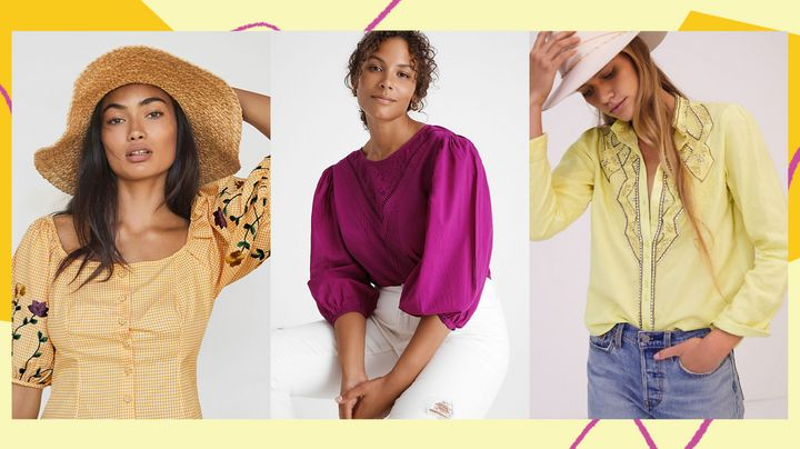 These tops are sure to make you look put together from the waist, up.