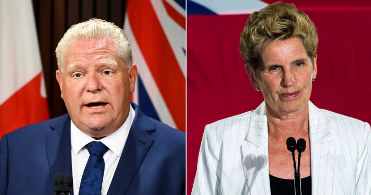 Doug Ford And Kathleen Wynne's Warm Exchange Is The 2020 Moment No One Saw Coming