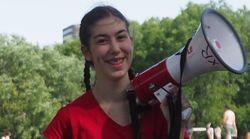 À 18 ans, cette activiste est prête pour la désobéissance