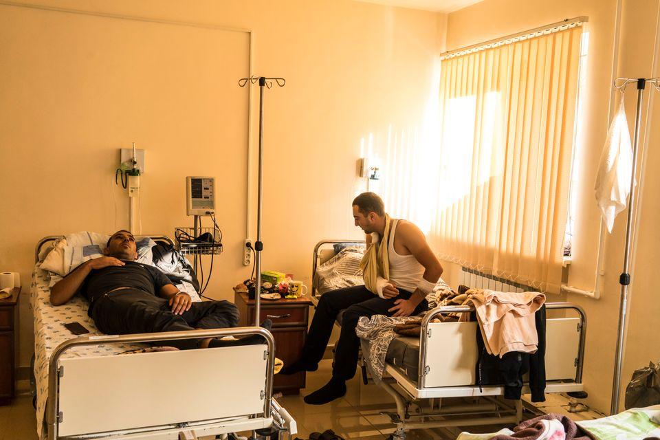 Τραυματίες στρατιώτες