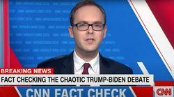 CNN Fact Checker Calls Trump's Debate Performance 'An Avalanche Of