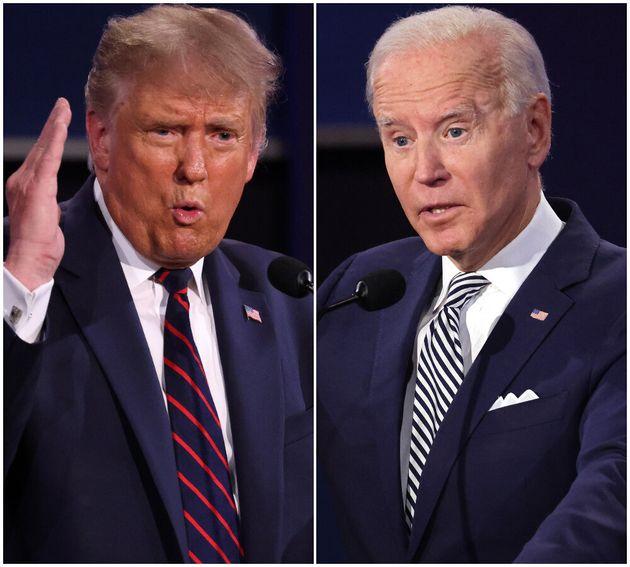 Donald Trump and Joe
