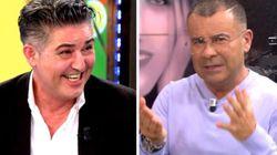 Ángel Garó interrumpe 'Sálvame' pidiendo al público que vea Antena 3 y Jorge Javier le corta