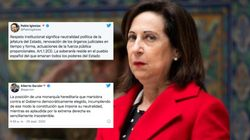 Margarita Robles critica los ataques de Iglesias y Garzón al rey y defiende su papel