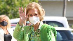 El detalle de las últimas apariciones de la reina Sofía que es todo un mensaje al rey Juan