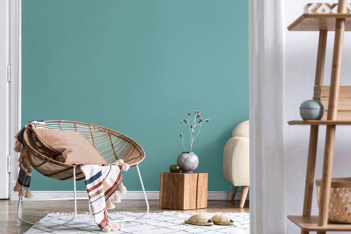 Le Paruline bleue de Sico, couleur de l'année 2021.