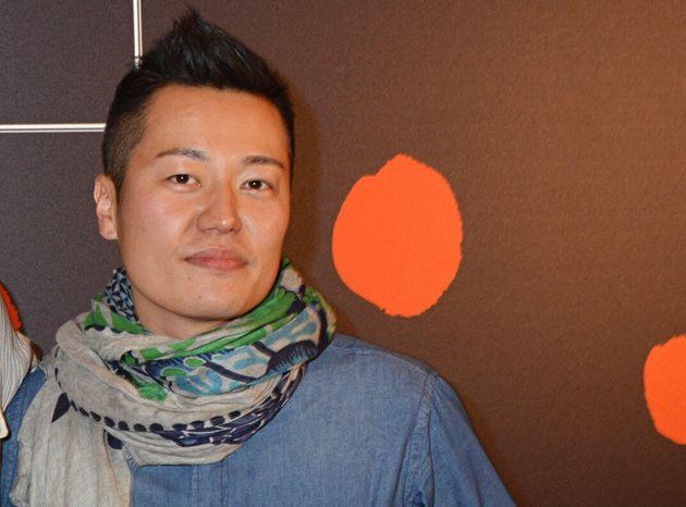 Le chef Taku Sekine lors d'un événement au Bon Marché le 2 setpembre 2014 (Photo...