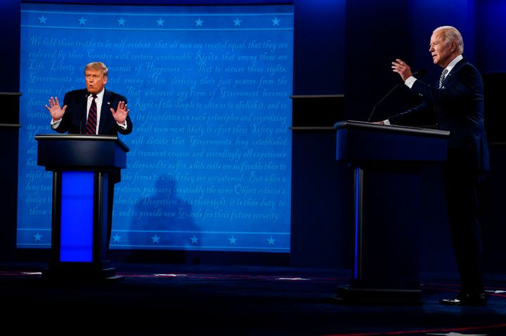 The first 2020 presidential debate contained a painful then powerful moment for many people who know firsthand what it's like to live with addiction or love someone who has a substance abuse disorder.