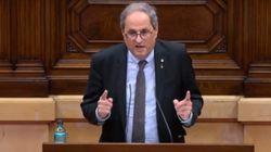 EN DIRECTO: Pleno en el Parlament tras la inhabilitación de Quim
