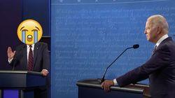 Biden Drops Debate Clip With Crying Emoji Over Trump's Face, Asks 'Had