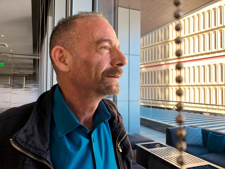 """Timothy Ray Brown, nicknamed """"the Berlin patient,"""" in Seattle on March 4, 2019."""