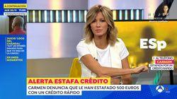 La indignación de Susanna Griso en 'Espejo Público':
